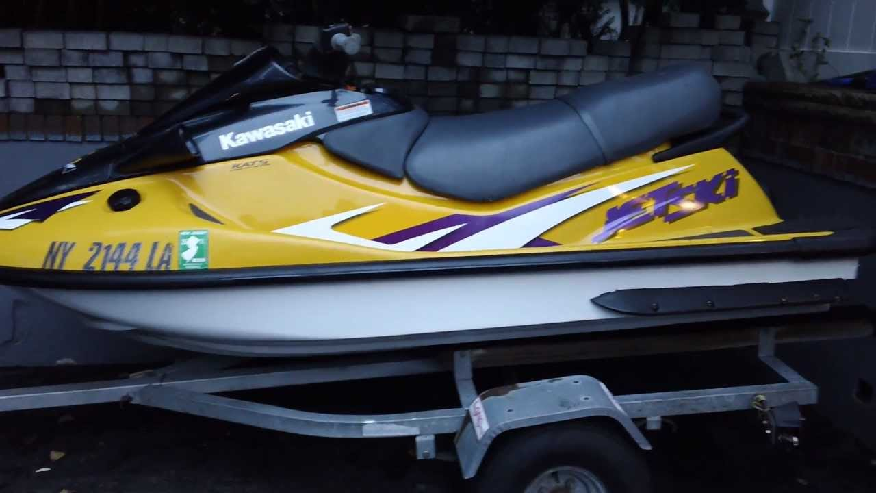 1998 kawasaki zxi 1100 jet ski review - youtube
