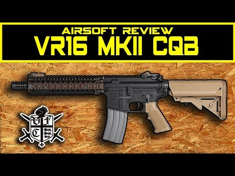 VR16 CQB MKII by VFC airsoft review