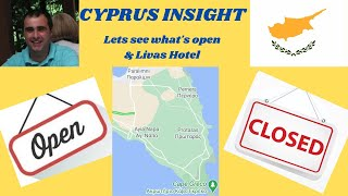 What s Open Drive through of Protaras Perneria Agia Napa Cyprus October 2020 Livas Hotel