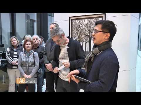 Schauspieler, Sänger und bildender Künstler stellt in Zwickau aus