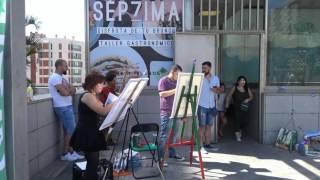 """Concurso pintura rápida """"Canarias Hoy"""" 2017"""