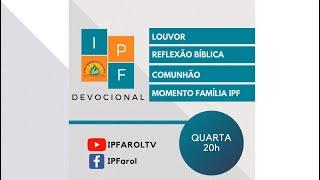 Devocional - Quarta 11/11/20 - Rev. Célio Miguel