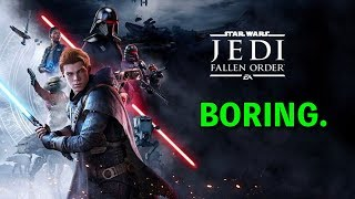 "Star Wars Jedi Fallen Order Gameplay Trailer ""hot take"""