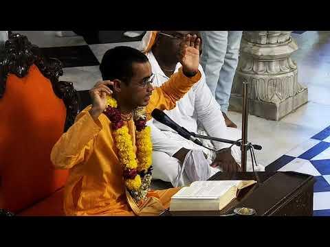 Evening Bhagavad Gita Class 02.55 by Maha Prabhu Rama Das on 7th May 2018 at ISKCON Juhu