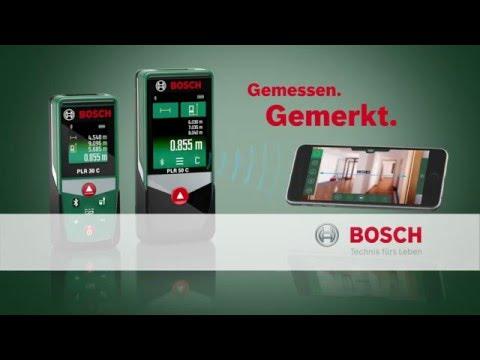 Bosch laser entfernungsmesser zamo spot 2 youtube