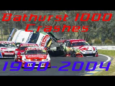 Bathurst 1000 Crashes: 1990-2004
