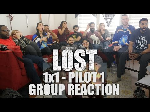 React Wheel: LOST - 1x1 Pilot Part 1 - Group Reaction + Whee