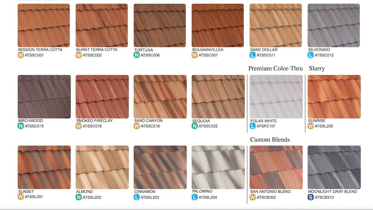 Crown Roof Tile Specwizard For Concrete Roof Tiles Youtube