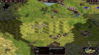 Age of Empires: Definitive Edition - 3v3 RM Carthaginians Narrows - eartahhj - 03/09/2019