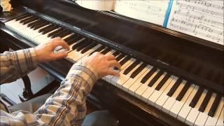 Let's twist again.   Piano: André Caron