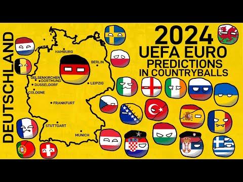 2024 UEFA EURO Predictions (in Countryballs)