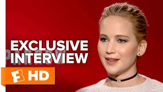 Stripping Down For The Camera - Red Sparrow (2018) Interview | All Access