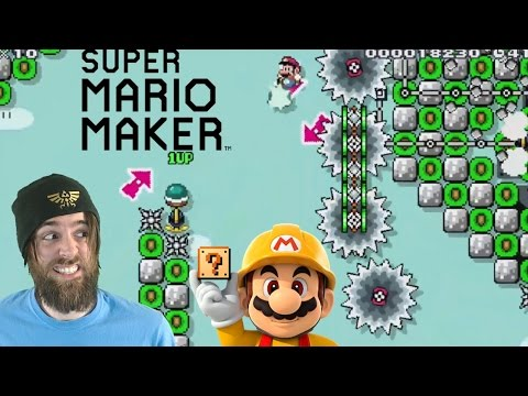 Extreme Air-kick Mario | Nearly Impossible Levels - Super Mario Maker