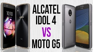 Idol 4 vs Moto G5 (Comparativo)