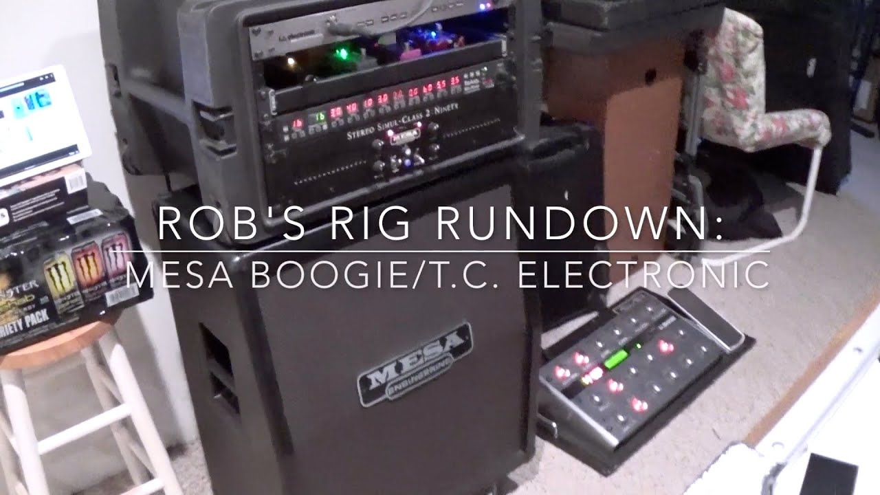 Rig Run Down Mesa Boogie Triaxis Simul 2 90 Tc