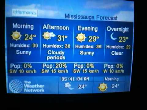 The Weather Network LF Toronto/Mississauga, Ontario, Canada
