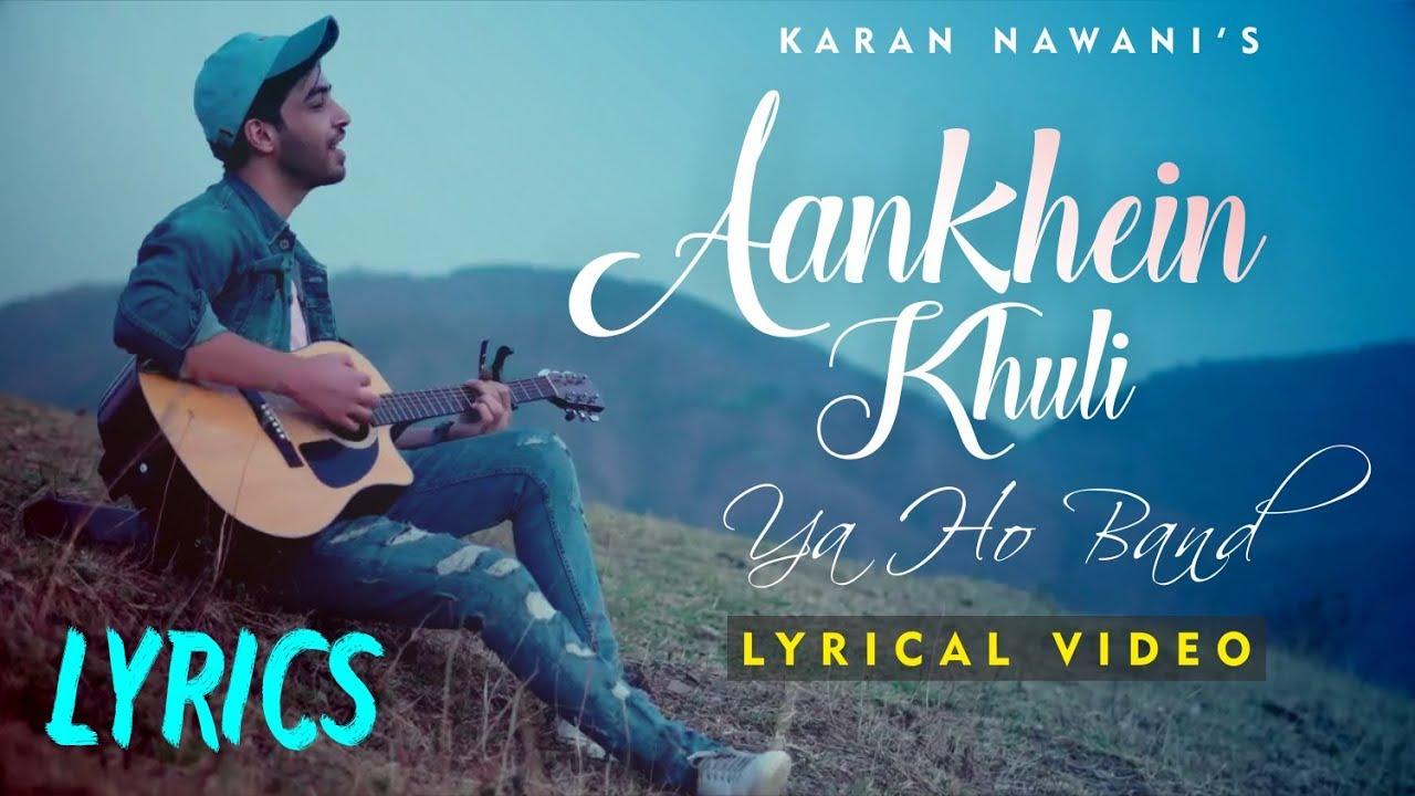 Aankhein Khuli Ho Ya Ho Bandh Lyrics - Mohabbatein - 2000