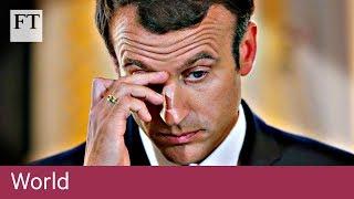 Macron's popularity plummets   World