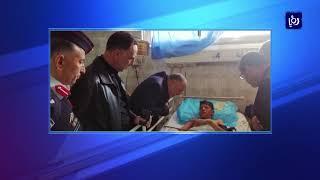 17 إصابة خلال محاولة أحد الأشخاص الانتحار في المفرق - (22-2-2019)
