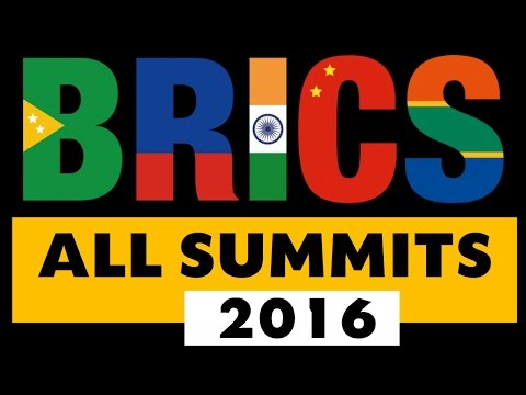 BRICS 2016 ALL SUMMITs  (Most Imp for Every Exams )