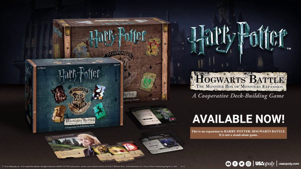Harry Potter Hogwarts Battle The Monster Box Of Monsters