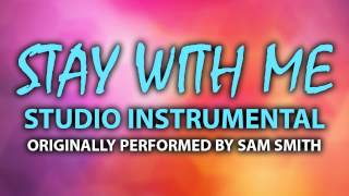 Stay With Me (Cover Instrumental) [In the Style of Sam Smith]