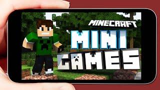 O MELHOR SERVIDOR DE MINIGAMES !! (Minecraft PE 0.14.0)