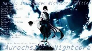 ☯Naruto Shippuuden: All Openings [Nightcore Edition]☯