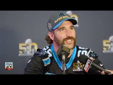 Snoop Dogg Interviews Jared Allen at Media Day - 2/5/16