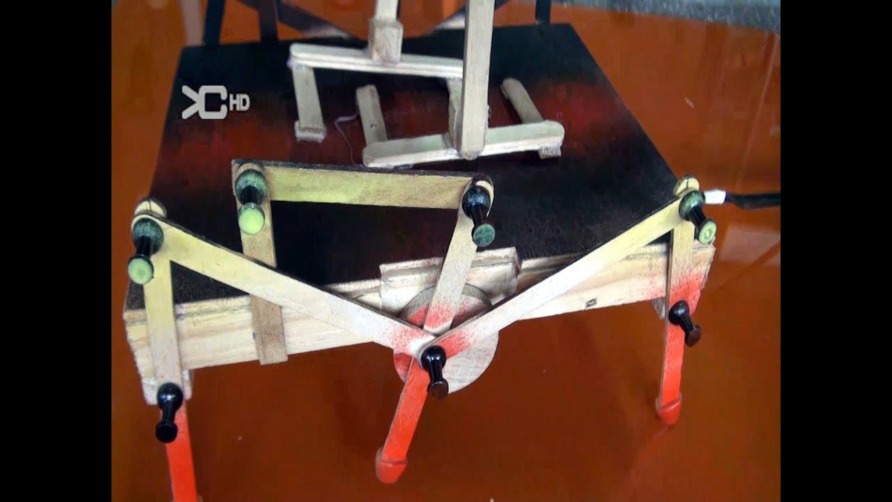 Robot Araña con dirección - YouTube