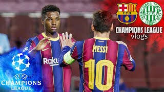 We take you behind the scenes as barça opened their 2020/21 uefa champions league account with a stunning victory over ferencváros at camp nou! see how i...