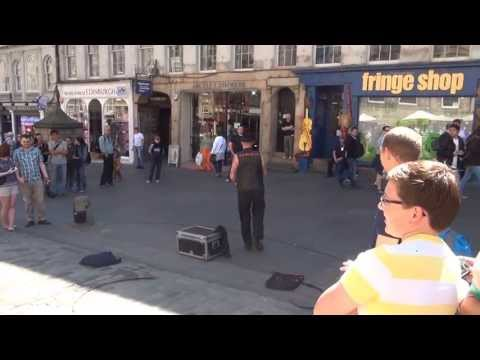 Edinburgh street performance
