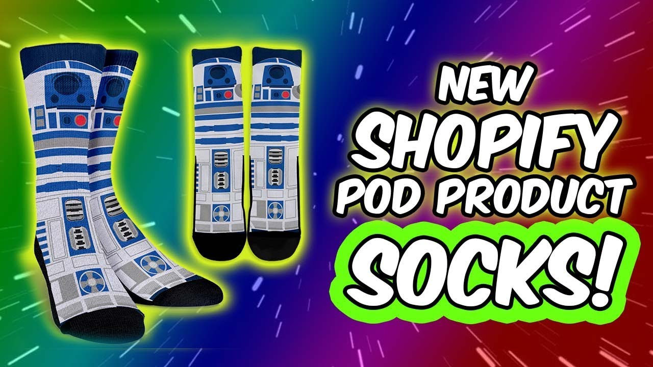 New Shopify POD Product – Socks!