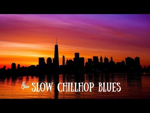 Slow Chillhop Blues | A Minor Guitar Backing Track Jam