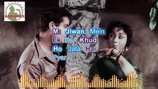 DIL TERA DEEWANA HAI SANAMM hindi karaoke for Male singers with lyrics