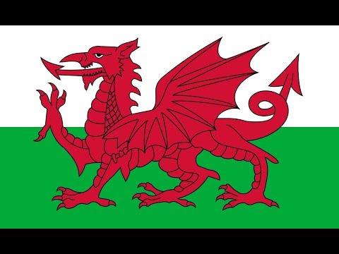 Флаг Уэльса.