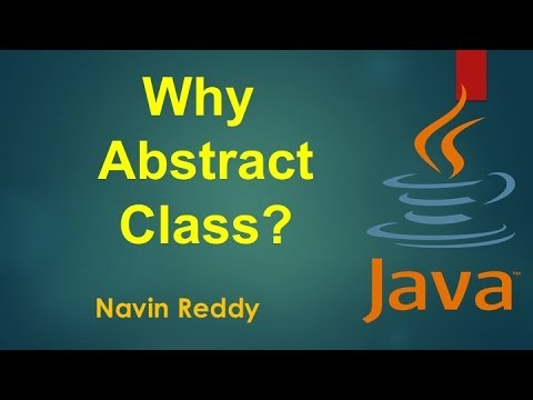 how to use abstract class in java