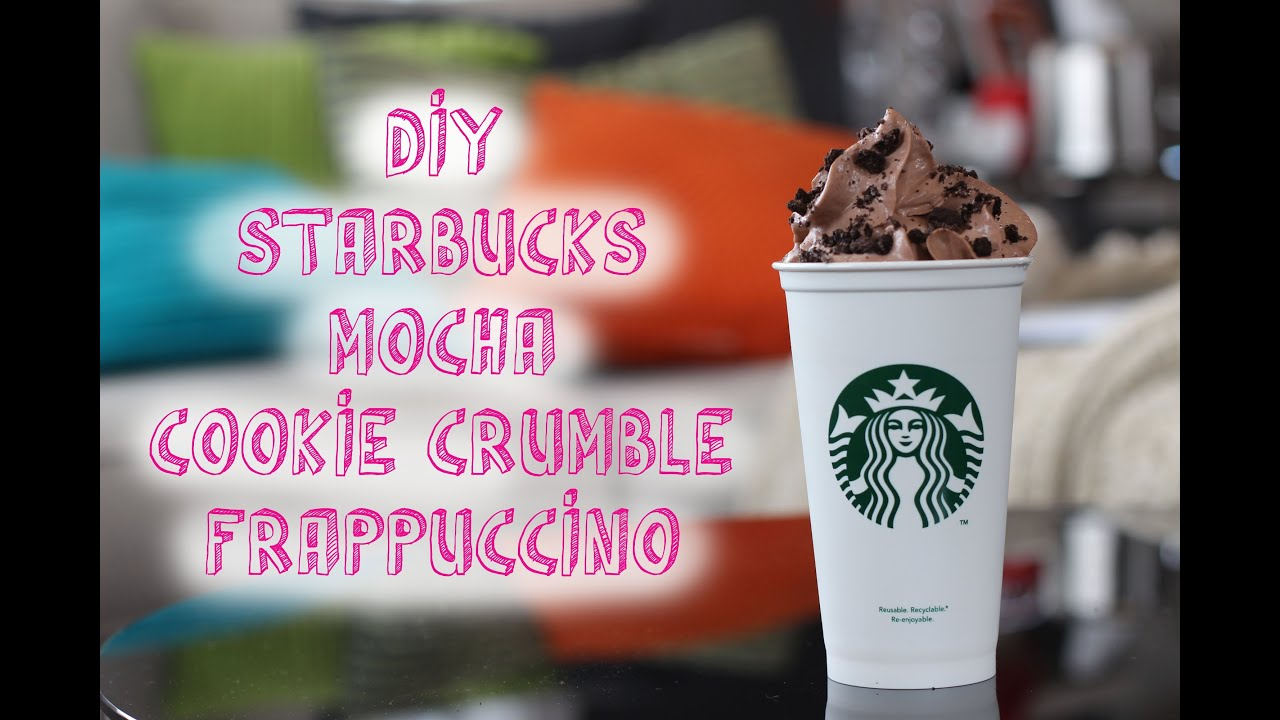 how to order mocha cookie crumble