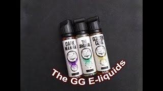 [Greek] Παρουσίαση The GG E-liquids