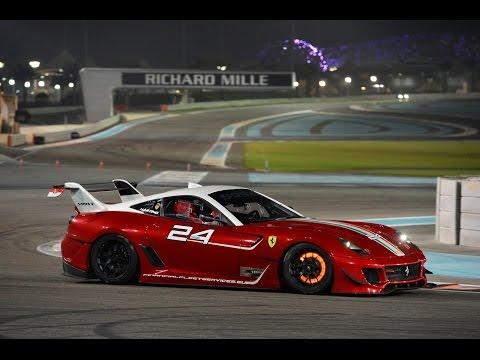 Ferrari XX Programmes Corse Clienti Finals 2014 Abu Dhabi 599XX Curbstone.net Martino Rosso Team 24