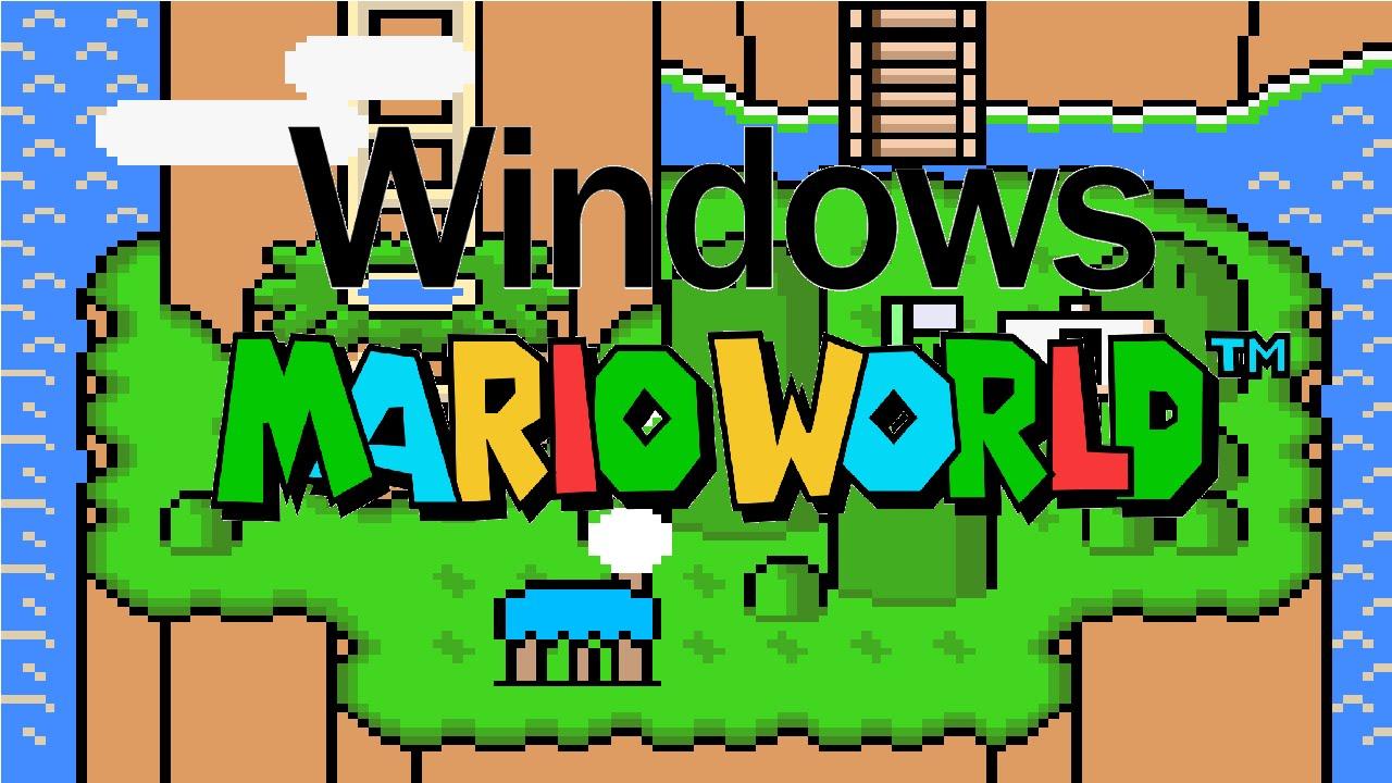 Super mario world hack windows 98 | Super Mario Bros (version 10