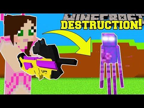 Minecraft: DESTRUCTION SIMULATOR 2! (RIDICULOUS EXPLOSIONS & MONEY!) Modded Mini-Game