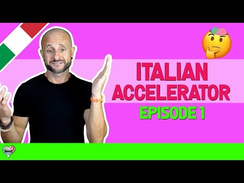 Speak Italian: Learn and Improve your Italian Through Real Conversations (EPISODE 1)