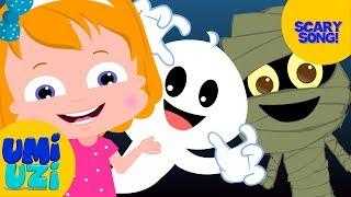 Umi Uzi | Halloween Songs For Children | Cute Monsters Of Halloween | Funny Songs For Children