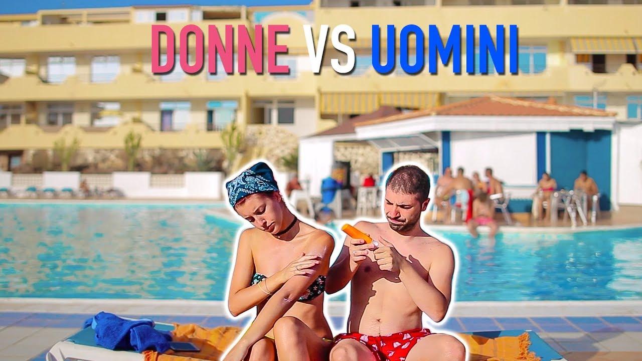 DONNE vs UOMINI AL MARE/PISCINA ☀️🌊 #1