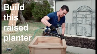 Western Red Cedar Planter Box