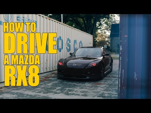 How to Drive a Mazda RX8 Part 2!