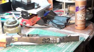 BATTLE OF BRITAIN GB. JU-87 STUKA Caed Model Video 2