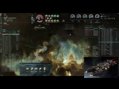 How to kill NPC mining hauler T1 and T2 with Gnosis - strongbox