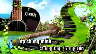  Karaoke HD   Lớp Chúng Ta Đoàn Kết - Âm Nhạc Lớp 3